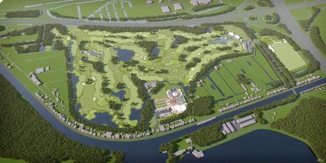 Nieuwe Meer vier dagen van buitenwereld afgesloten tijdens golftoernooi KLM Open