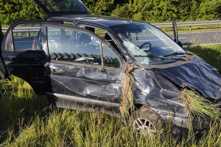 Twee gewonden bij ongeluk op de N201 in Hoofddorp