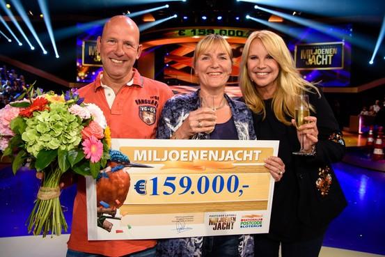 Jackpot voor Vijfhuizenaren in televisieshow