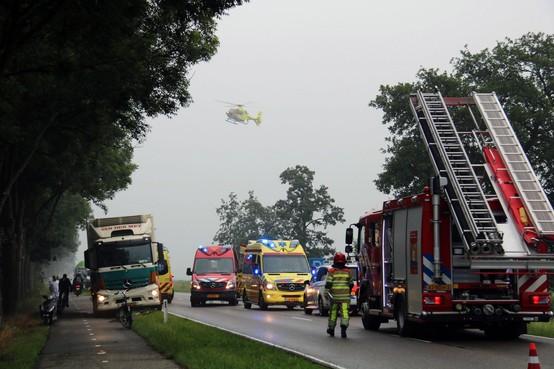 Vrachtwagenchauffeur zag Hilversumse (48) voor zijn ogen op de Loodijk verongelukken