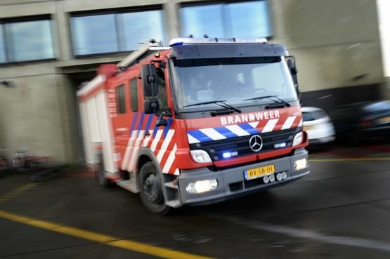 Brand bij noodopvang vluchtelingen in Amstelveen