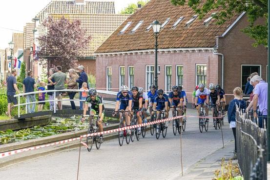 Martijn Borst is de wielerheld van Zoeterwoude