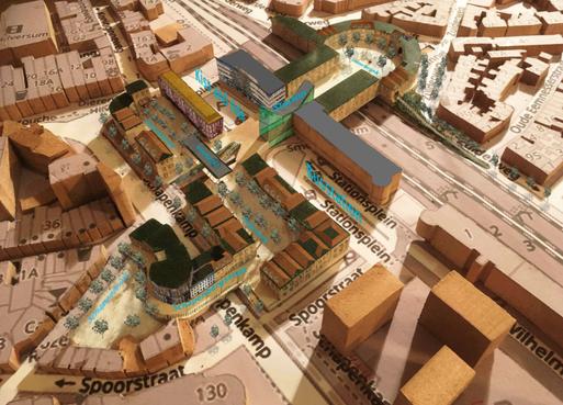 Raadslid en architect Van Waarden vindt Vier Brinkjes een brug te ver: 'Ondergronds spoor dé oplossing'