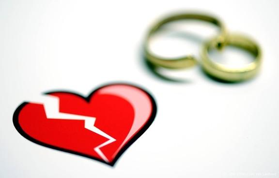 Scheidingskans neemt toe met leeftijdsverschil