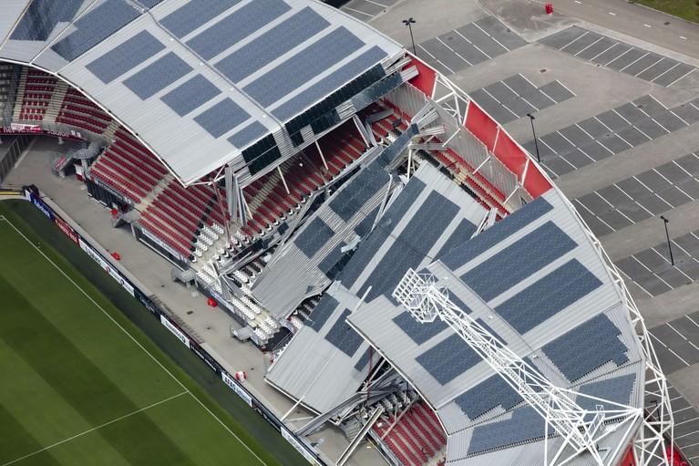 Stadion AZ kreeg elk jaar akkoord van de gemeente, maar werd niet gecontroleerd