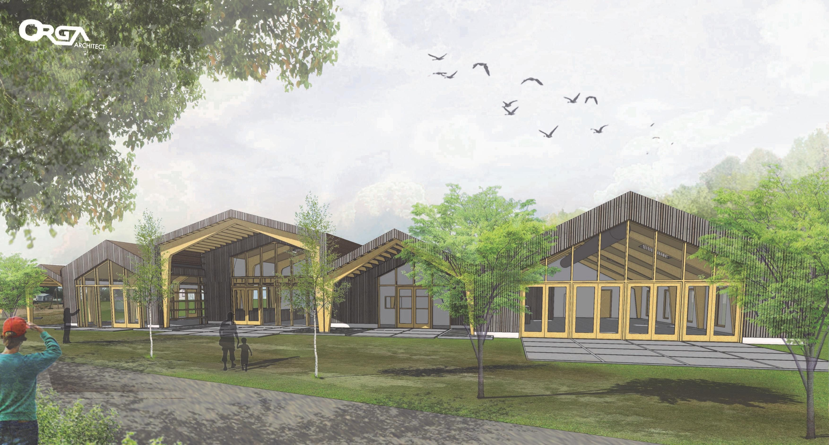 Splinternieuw gebouw voor camping De Nollen in Callantsoog, maar de karakteristieke stolp blijft ook gewoon st - Noordhollands Dagblad