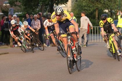 Een gebroken ketting kost Kyle Agterberg de nationale titel bij het NK mountainbike streetrace