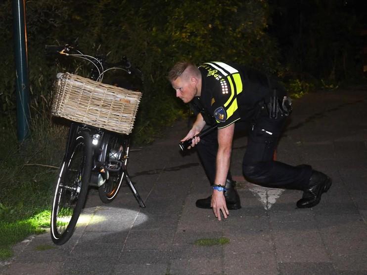 Achtergelaten fiets leidt tot zoekactie in Oegstgeest