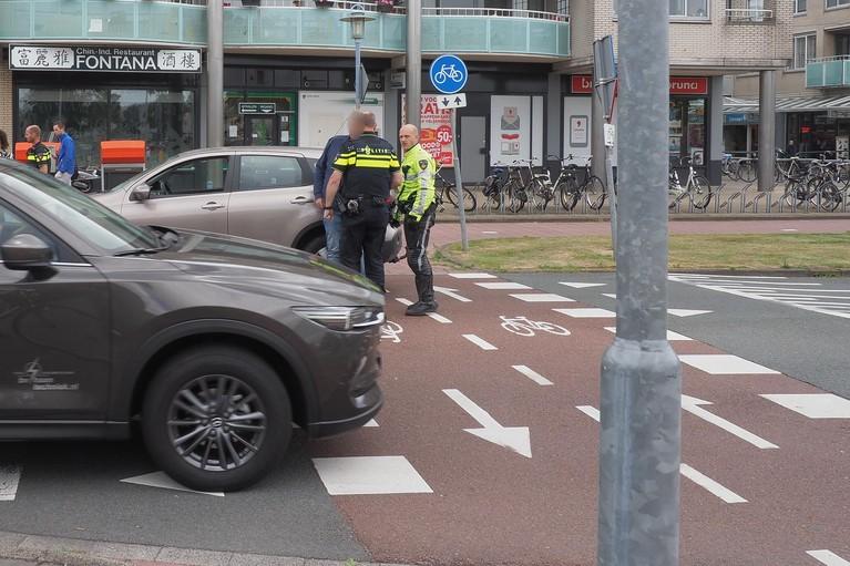 Fietser gewond bij ongeval in Velserbroek