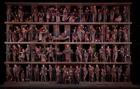 Prachtig orkestgeweld in 'Oedipe'