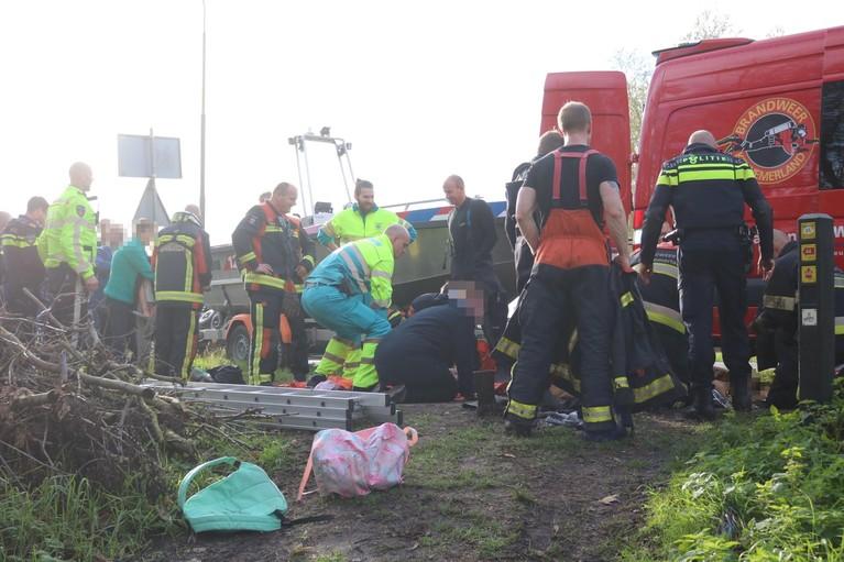 Twee kinderen uit water gered in Keukenhofbosch Lisse
