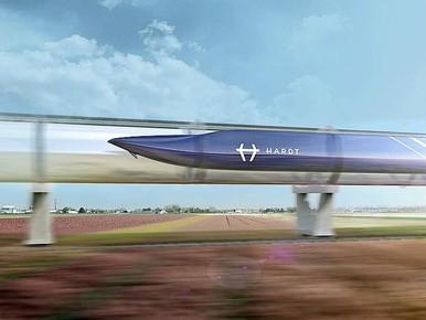 Kilometerslange testbaan Hyperloop in Flevopolder [video]