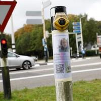 De kruising in Baarn waar Anne Faber haar laatst verstuurde selfie maakte.