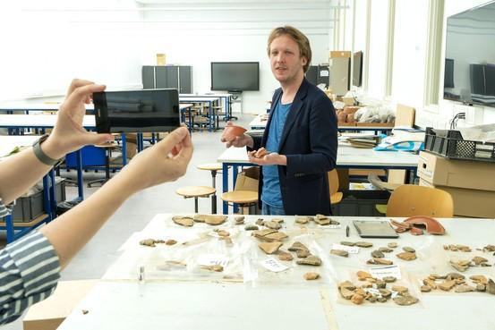 Nieuwe 'face of science' Lennart Kruijer: 'Archeologie gaat juist over het nu'