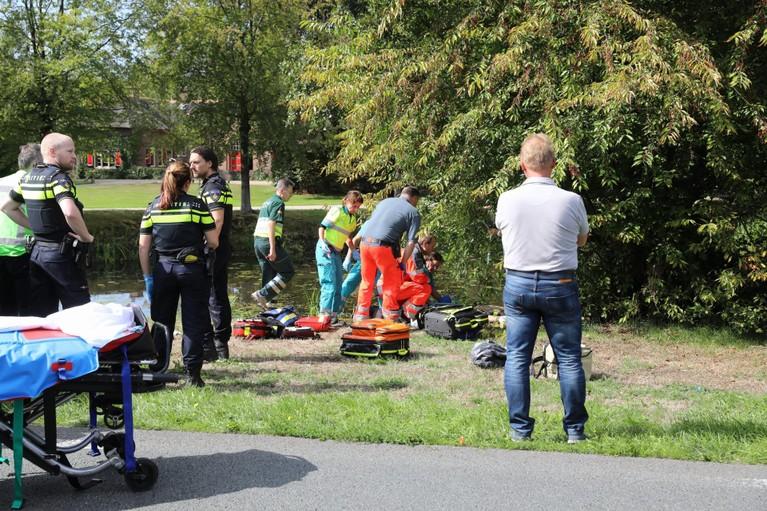 Motoragent gewond bij ernstig ongeluk in Soest