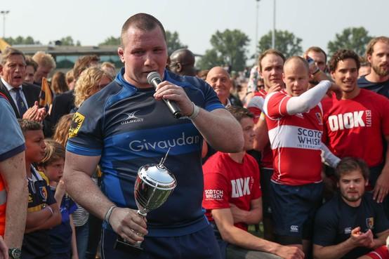 Rugbyers van 't Gooi moeten de landstitel afstaan aan het Leidse DIOK: 'Dit was niet onze dag'