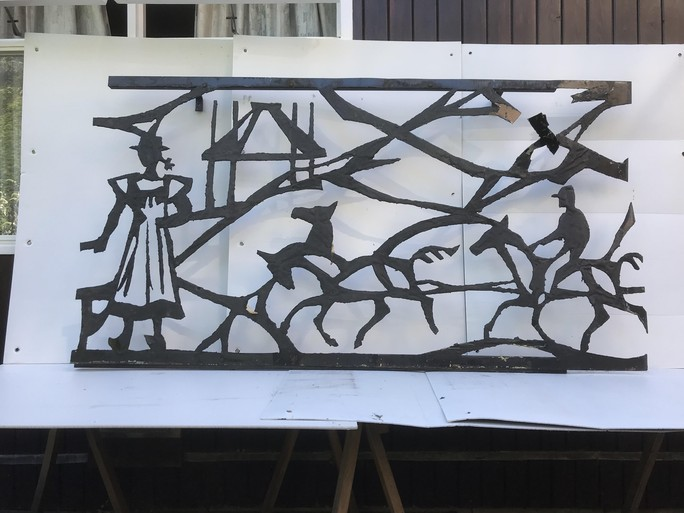 Speurtocht naar plek kunstwerk in Laren gaat door