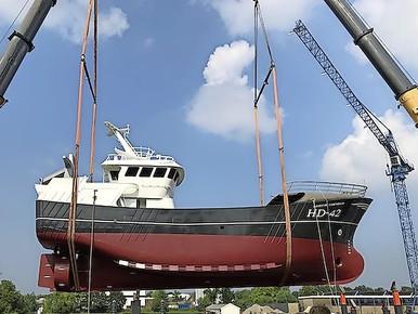 Voor eerst sinds 2003 nieuwe Helderse kotter: HD 42 sluit bij vloot aan