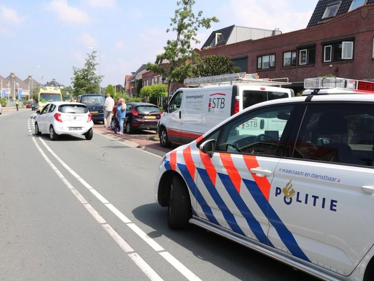Gewonde bij botsing vier voertuigen in Hillegom