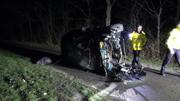 Man overleden na eenzijdig ongeval in Wieringerwerf [video]