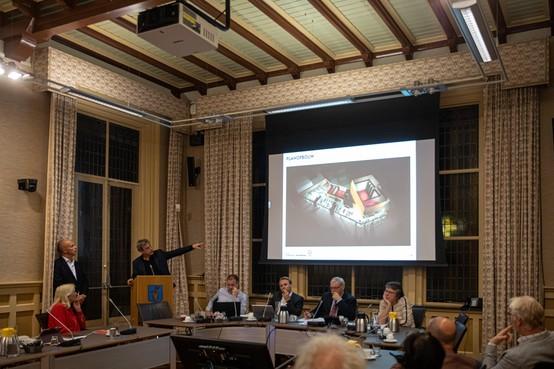 Donkere wolk boven Baarns Cultuurhuis; Is plan ontwikkelaar met miljoenensteun van gemeente wel haalbaar?