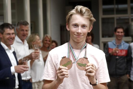 Hilversums sporttalent van het jaar Merijn Scheperkamp: 'Het gaat nu pas echt beginnen'