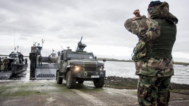 Mariniers al zeventig jaar thuis op Texel