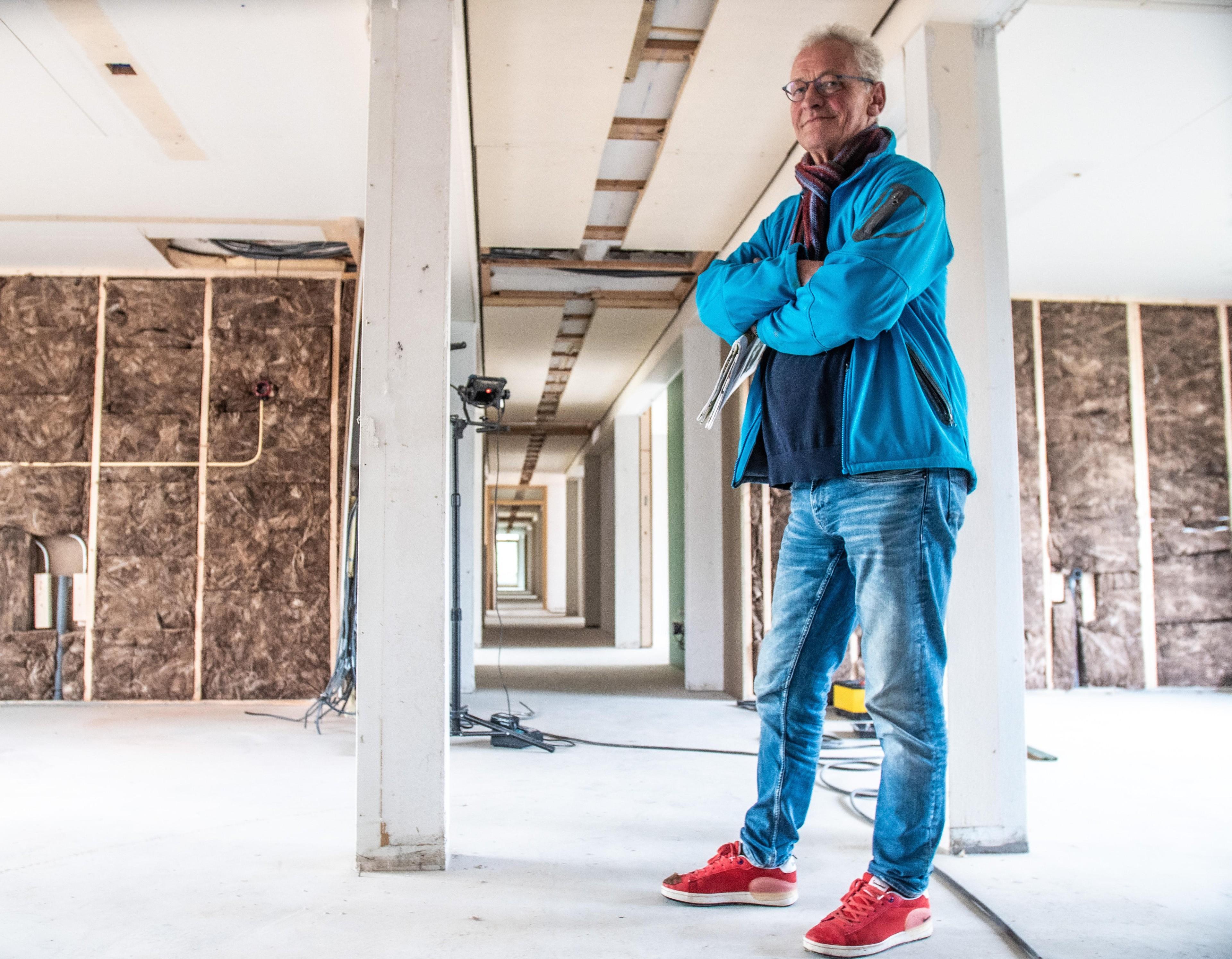 Elke bewoner van het Plazierhuis in Schagerbrug heeft zijn eigen douche en toilet. En eventueel kunnen ze in h - Noordhollands Dagblad