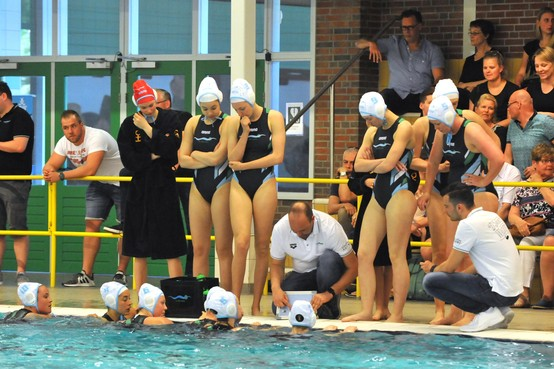 Kwartfinale eindstation waterpolosters De Zaan na dubbele nederlaag tegen UZSC