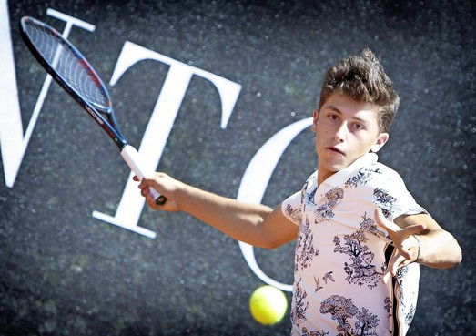 15-jarige Italiaan Luca Nardi wil via Dutch Junior Open in Bakkum de US Open halen