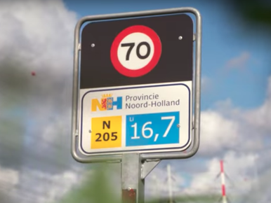 Slim stoplicht wacht op slimme auto's op N205 [video]