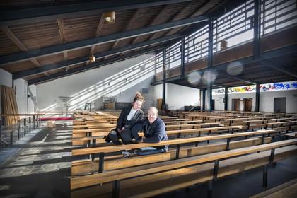 Vrienden bouwen droomhuizen in monumentale Haarlemse Pastoor van Arskerk