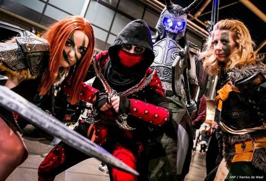Geen nepwapens toegestaan op Dutch Comic Con
