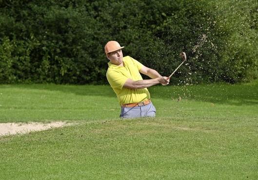 Amateurgolfer van Spaarnwoude Daan Pas klopt professionals bij ProAm