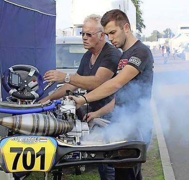 Hazerswoude karter Roy Bakker hoopt dat WK in Le Mans geen loterij wordt