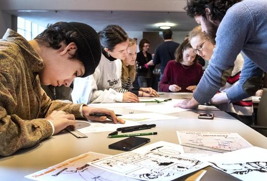 Haarlemse scholieren ontpoppen zich tot songwriter, dichter of striptekenaar