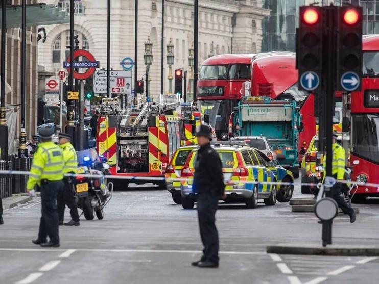 Aanslag in Londen.