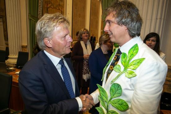 Provinciale Staten nemen afscheid van Bond en Larson
