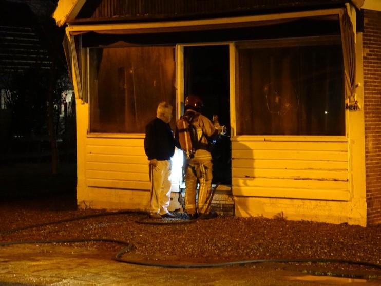 Woning onbewoonbaar door brand in Landsmeer