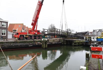 Otto's brug moet klaar zijn voor de Hoornse Havenconcerten: herstelwerkzaamheden beginnen dinsdag