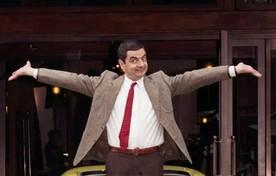 Lachend autorijden? Dat kan met Rowan Atkinson alias Mr Bean.