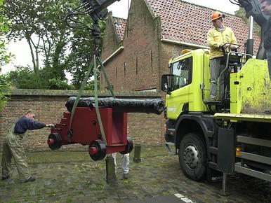 Ook Hoorn krijgt kanonnen in de haven