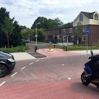Voor fietsen en brommers is er nu een doorgang naar het Zuiderven.