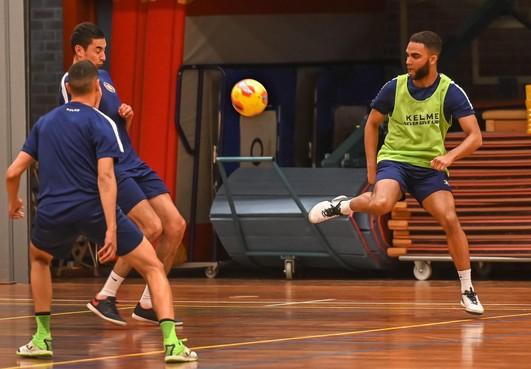 Hovocubo-captain Yoshua St. Juste: 'Willen finale tegen FC Marlène niet op derde duel laten aankomen'