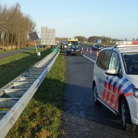 De A7 in Benningbroek.