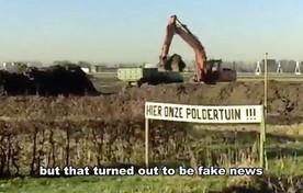 Scène uit het filmpje van In Rijsenhout.