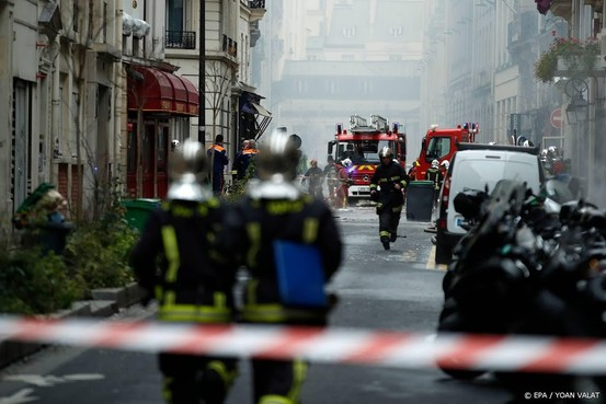 Vier doden door gasexplosie in centrum Parijs