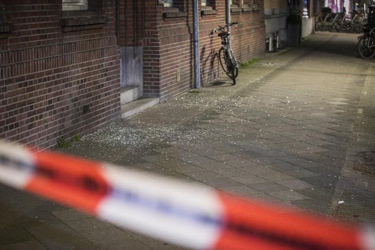 Plofkraak in Amsterdam, daders vluchten zonder buit