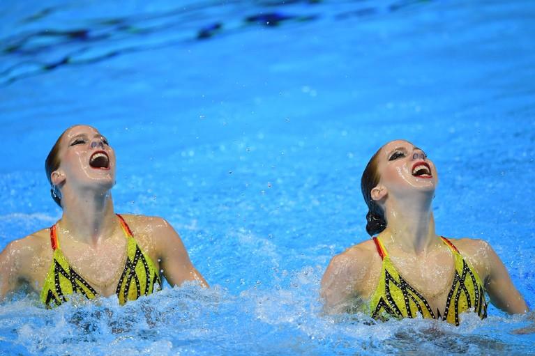 Hoofddorpse tweeling De Brouwer mist finale WK synchroon