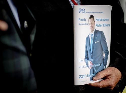 Nieuwe termijn voor KLM-baas Elbers